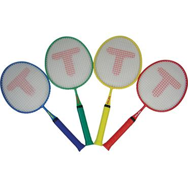 "Tuftex Badminton Junior Rackets 19"" (4 Pack)"