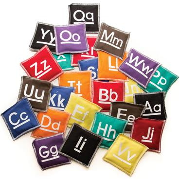 First-Play A-Z Alphabet Beanbags Set (26)