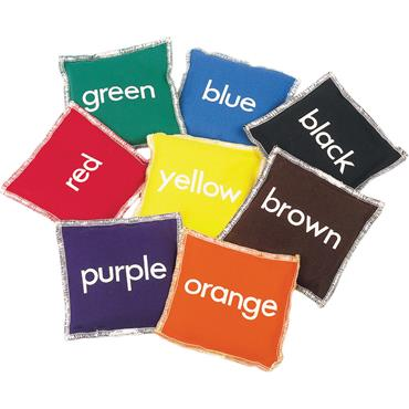 First-Play Colour Beanbags Set (8)