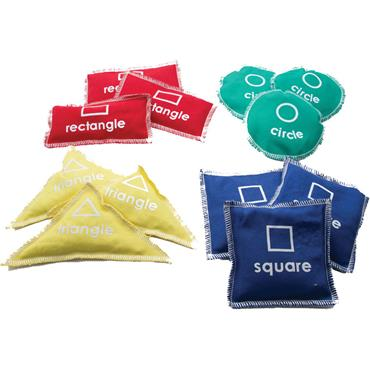 First-Play Shape Beanbags Set (12)