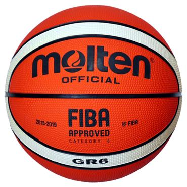 Molten GR6 Basketball Pack (10 Balls and Carry Bag)