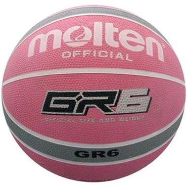 Molten Womens Rubber Basketball (Age 11-14) | Pink