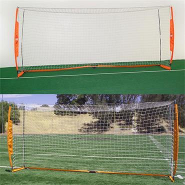 Portable Soccer Goal | 16ft x 7ft | White