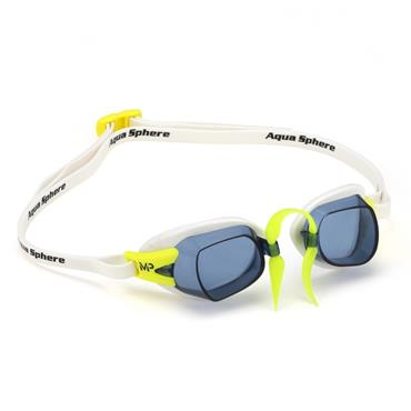 AquaSphere MP Chronos Goggle | White (Smoke Lens)