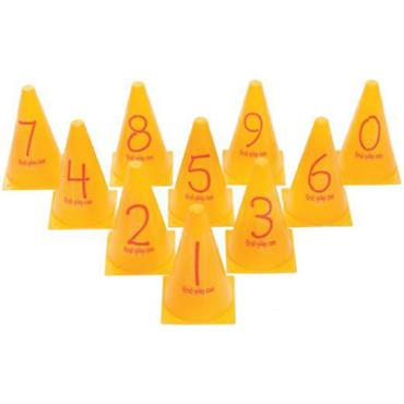 First-Play Number Cones Set(10)