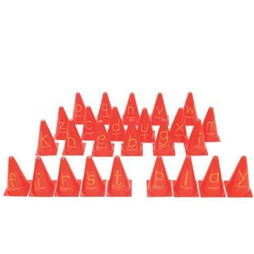 First-Play A-Z Alphabet Cones Set (26)