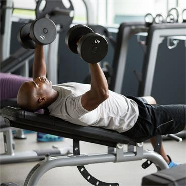 Precor Multi Adjustable Weight Bench