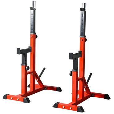 Squat Stand with Spotter Arm
