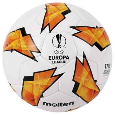 Molten Official Europa League Match Ball Replica | (White / Orange) | Size 5