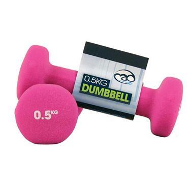 Fitness-Mad Neoprene Dumbbells | 0.5Kg