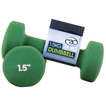 Fitness-Mad Neoprene Dumbbells | 1.5Kg