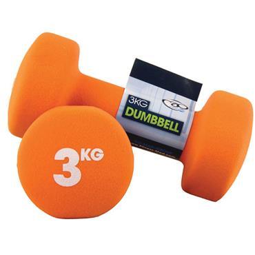Fitness-Mad Neoprene Dumbbells | 3Kg