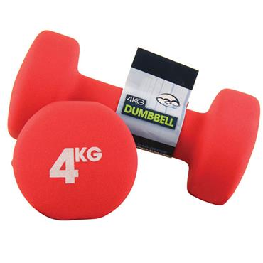 Fitness-Mad Neoprene Dumbbells | 4Kg
