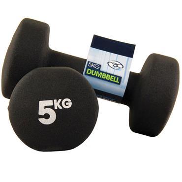 Fitness-Mad Neoprene Dumbbells | 5Kg
