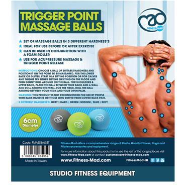 Fitness-Mad Trigger Point Massage Ball Set
