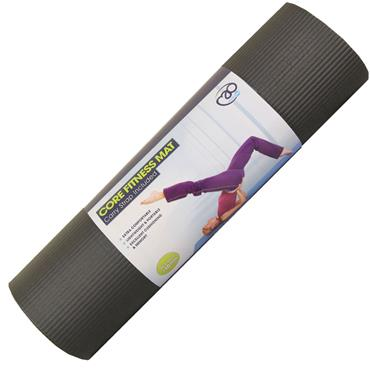 Pilates Core Fitness Mat | 10mm (Black)
