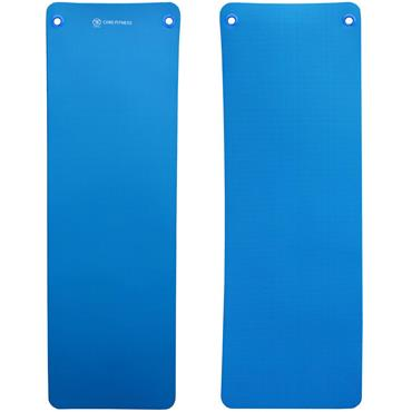 Core Fitness Mat Blue 10mm with Eyelets