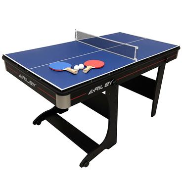 Riley 5ft Folding Pool Table & Table Tennis Table