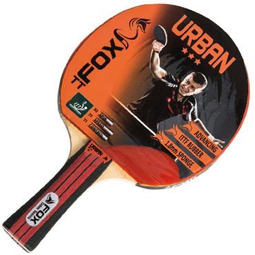 Fox Urban 3 Star Table Tennis Bat