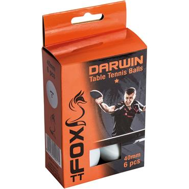 Fox TT Darwin 1 Star Table Tennis Balls