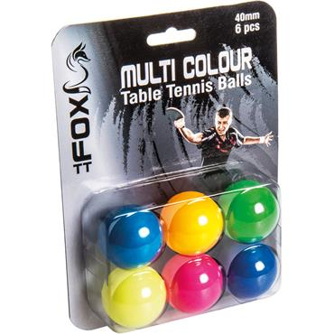 Fox TT Darwin Coloured Table Tennis Balls