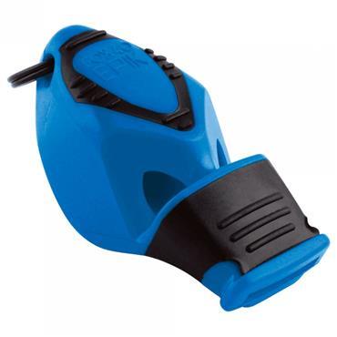 Fox 40 Epik CMG Safety Whistle C/W Wrist - Lanyard Blue