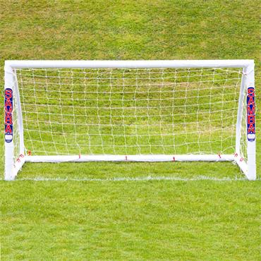 Football Soccer Match Goal | 6.5ft x 3ft | White