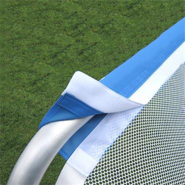 Football Soccer Folding Goal | 6ft x 4ft | White
