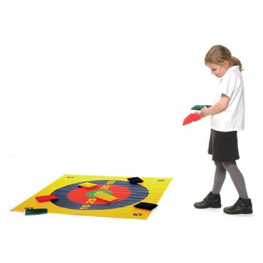 First-Play Coloured Ring Toss