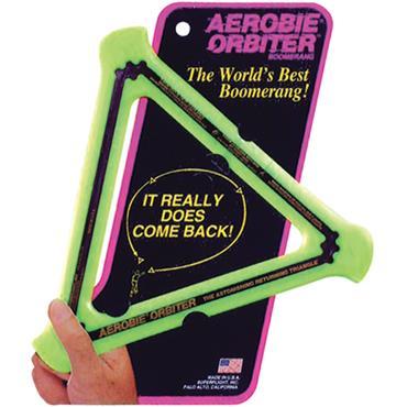 Aerobie Orbiter Boomerang Frisbee