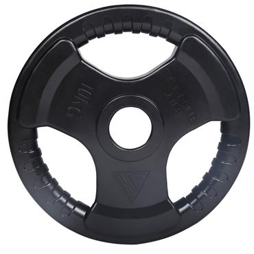 Hit Fitness Rubber Radial Olympic Weight Discs | 10kg