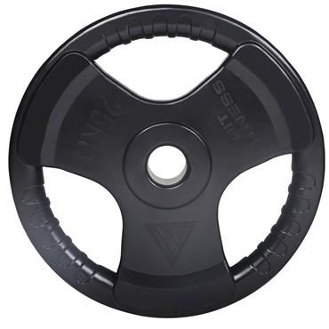 Hit Fitness Rubber Radial Olympic Weight Discs | 25kg
