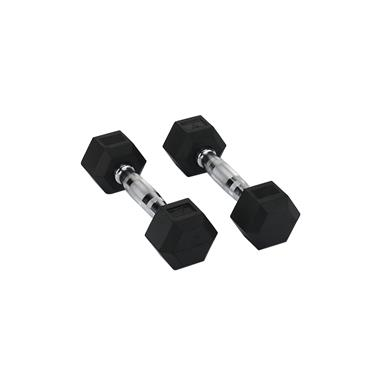 Hit Fitness Rubber Hex Dumbbells | 1kg