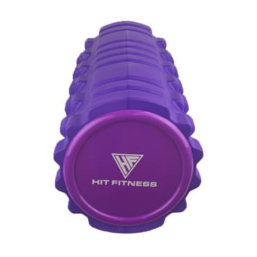 Hit Fitness Foam Roller | 45 x 14cm (Purple)