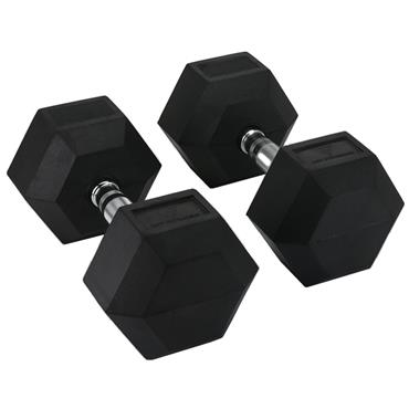 Hit Fitness Rubber Hex Dumbbells | 50kg