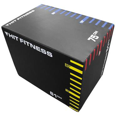 Hit Fitness 3-in-1 Soft Plyometric Boxes