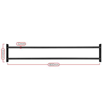 Hit Fitness Double Cross Beam 1800mm