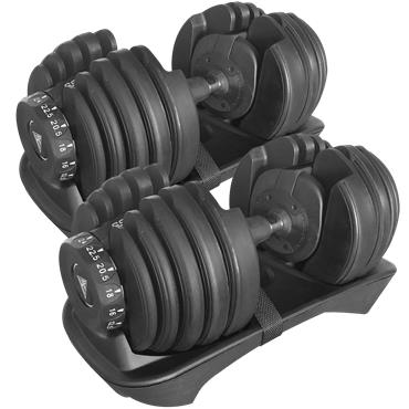 Hit Fitness Adjustabell Dumbbells (Pair) | 2.5 - 24kg