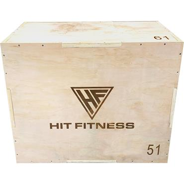 Hit Fitness 3 in 1 Wooden Plyometric Box
