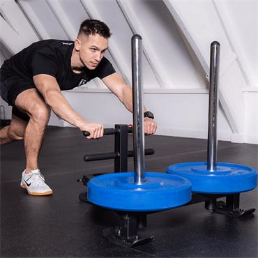 Hit Fitness Deluxe Power Sled With Harness