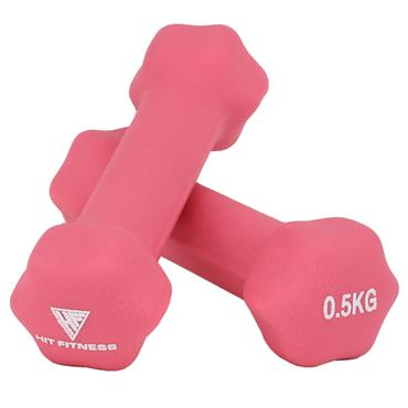 Hit Fitness Neoprene Studio Dumbbells | 0.5kg