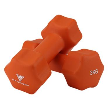 Hit Fitness Neoprene Studio Dumbbells | 3kg