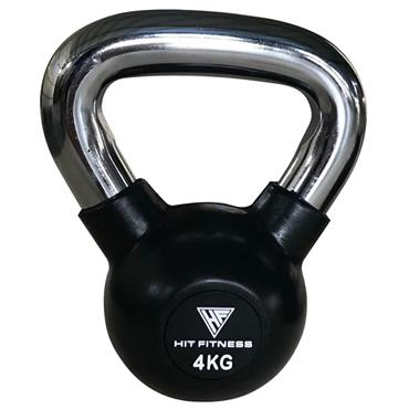 Kettlebell with Chrome Handle | 4KG