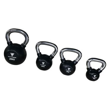 Kettlebell with Chrome Handle | 8KG