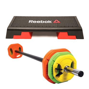 Aerobic Step & HIT Fitness Pump Set