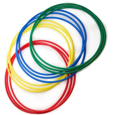 First-play Hula Hoops Assorted | 30 Inch (Pack of 12)