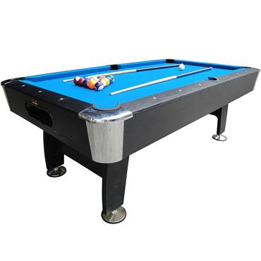 BCE Black Cat 7ft Deluxe Pool Table