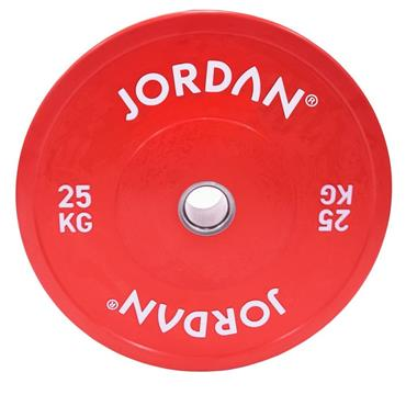Jordan Fitness Coloured Rubber Bumper Plate | 5kg-25kg