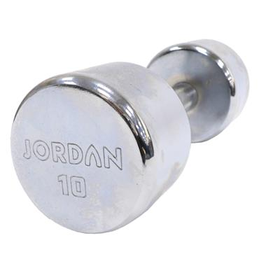Jordan Fitness Chrome Dumbbells | 8kg-20kg