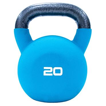 Neoprene Covered Kettlebell 20kg Teal